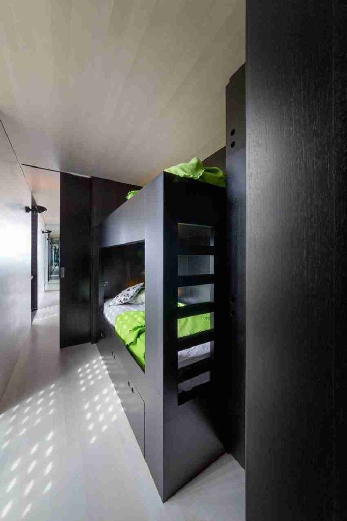 Modern Bunk Beds for Kids with Storage