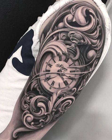 Jungs diese Tattoos sind besser als dein Design Uhren Tattoos Vorlagen