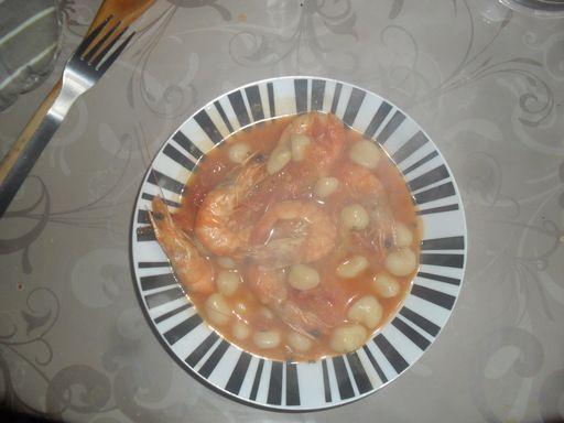 Dombré aux crevettes - Recette de cuisine Marmiton : une recette