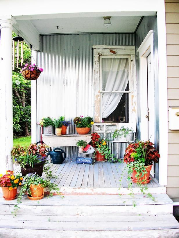 Embrace The Imperfection In Shabby Chic Decorating Ideas For Porches And  Gardens From HGTV