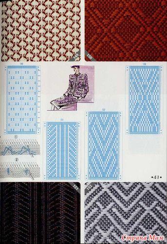 knitting pattern II TOYOTA Weaving 7