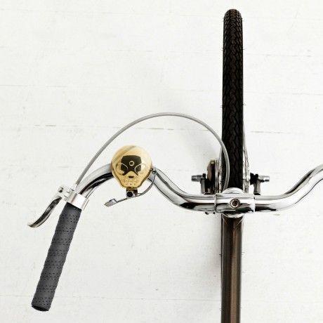 Sonette de vélo Tête de Mort #Skull #Bike