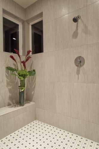 12  x 24  tile horizontal floor wall board border. 17 Best images about Bathroom Designs on Pinterest   Planked walls