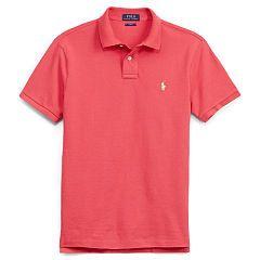 Slim-Fit Mesh Polo Shirt - Polo Ralph Lauren Slim Fit - RalphLauren.com