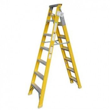$197.57 (Normally: $282.24) TOPRIGHT Fibreglass / Aluminium Ladder Extendable - 2.0m @ TOPMAQ - Bargain Bro