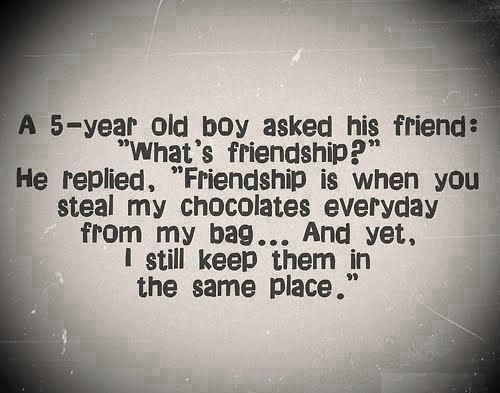 Years Of Friendship And Still Counting Quotes: A Five Year Old Boy