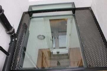 Basement Lightwell Grill Design Ideas, Pictures, Remodel, and Decor