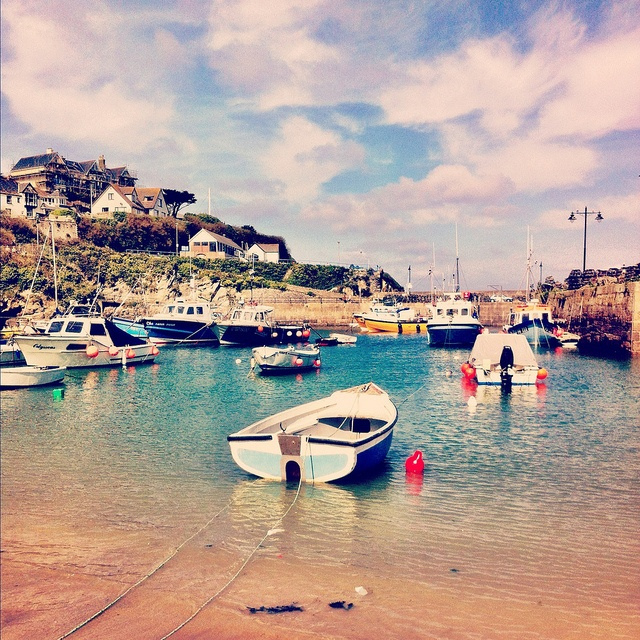 Newquay harbour by ZedBee | Zoë Power, via Flickr