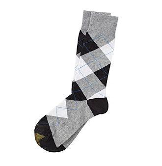 GOLD TOE® Men's Argyle Dress Socks