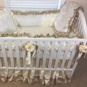 Custom Baby Bedding for Girls | Girls Custom Baby Bedding | Baby Bedding