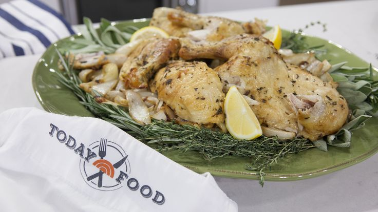 AL Roker shares his recipe for a perfect roasted chicken with crispy salty skin, a dish inspired by San Francisco's Zuni Cafe.