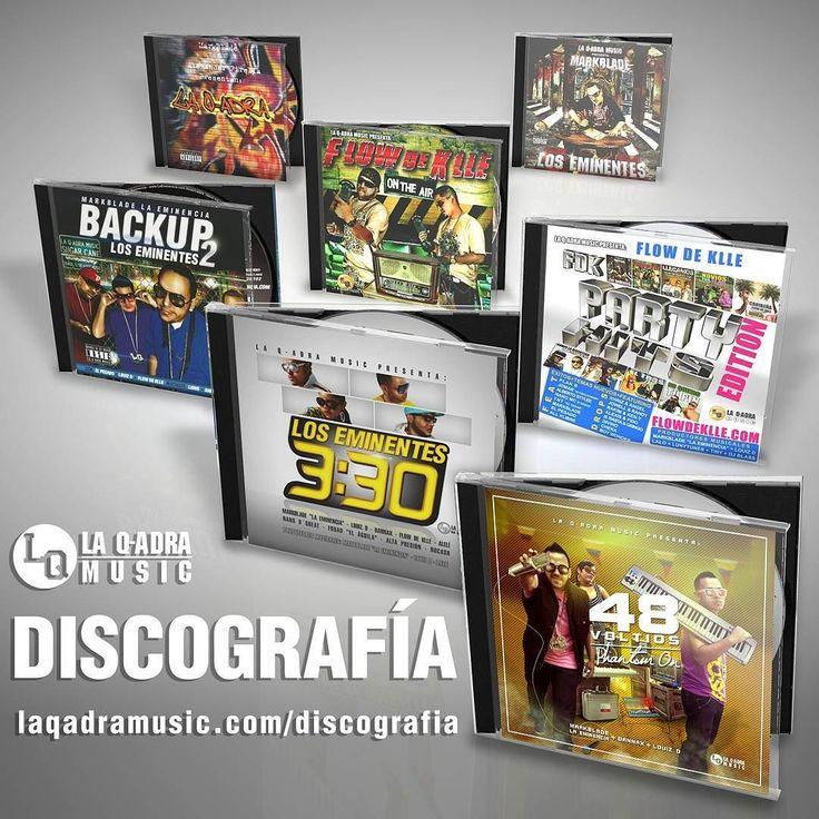 Siguenos en Instagram @laqadramusic | www.laqadramusic.com/discografia - Son 7 discos que puedes bajar Prod. MarkBlade La Eminencia Louiz D & Lalo incluyendo el más nuevo:  #48Voltios. (#PhantomON) #LosEminentes330 #LosEminentes2 #LosEminentes #PartyHitsEdition #OnTheAir #LaQadra  Gracias por apoyar al #TALENTOVENEZOLANO #DondeSiSeHaceMusic #Reggaeton #musicaurbana #cd #album #LaEminencia #discografia #edm #dembow #musicanueva #estudiodegrabacion #productormusical #grabacion #tw #fb