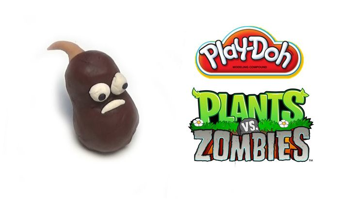 Play-Doh Plants vs Zombies Garden Warfare Coffee Bean from Plants Vs. Zo...