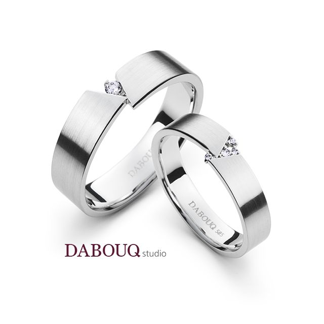 Dabouq Studio Couple Ring - DR0016 - Simple+ #DABOUQ #Jewelry #쥬얼리 #CoupleRing #커플링 #ProposeRing #프로포즈링 #프로포즈반지 #반지 #결혼반지 #Dai반지 #Diamond #Wedding_Ring #Wedding_Band #Gold #White_Gold #Pink_Gold #Rose_Gold