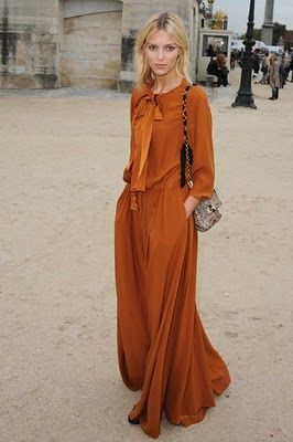 loving this rust color for fall