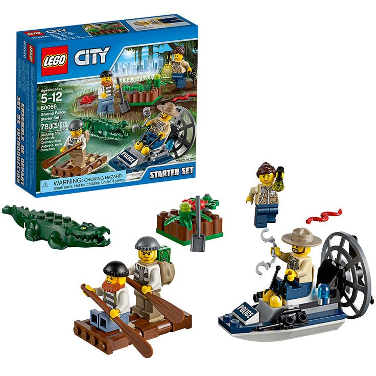 LEGO® City Swamp Police Starter Set 60066 at Creative Kidstuff