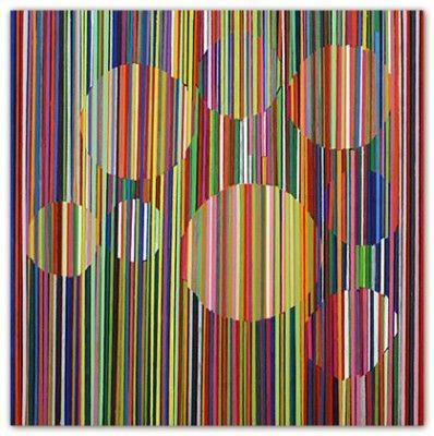 Melinda Harper - Untitled 2007 oil on canvas 82 x 82 cm