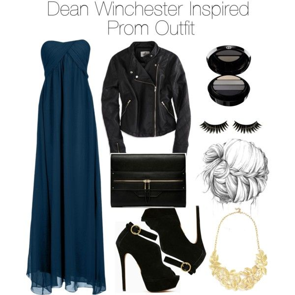 """""""Supernatural - Dean Winchester Inspired Prom Outfit"""" by staystronng on Polyvore"""