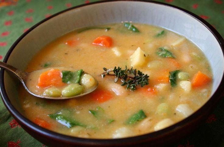 100%+Vegetable+Soup