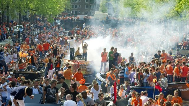 Kings Day, (Koningsdag)  -Amsterdam  -April