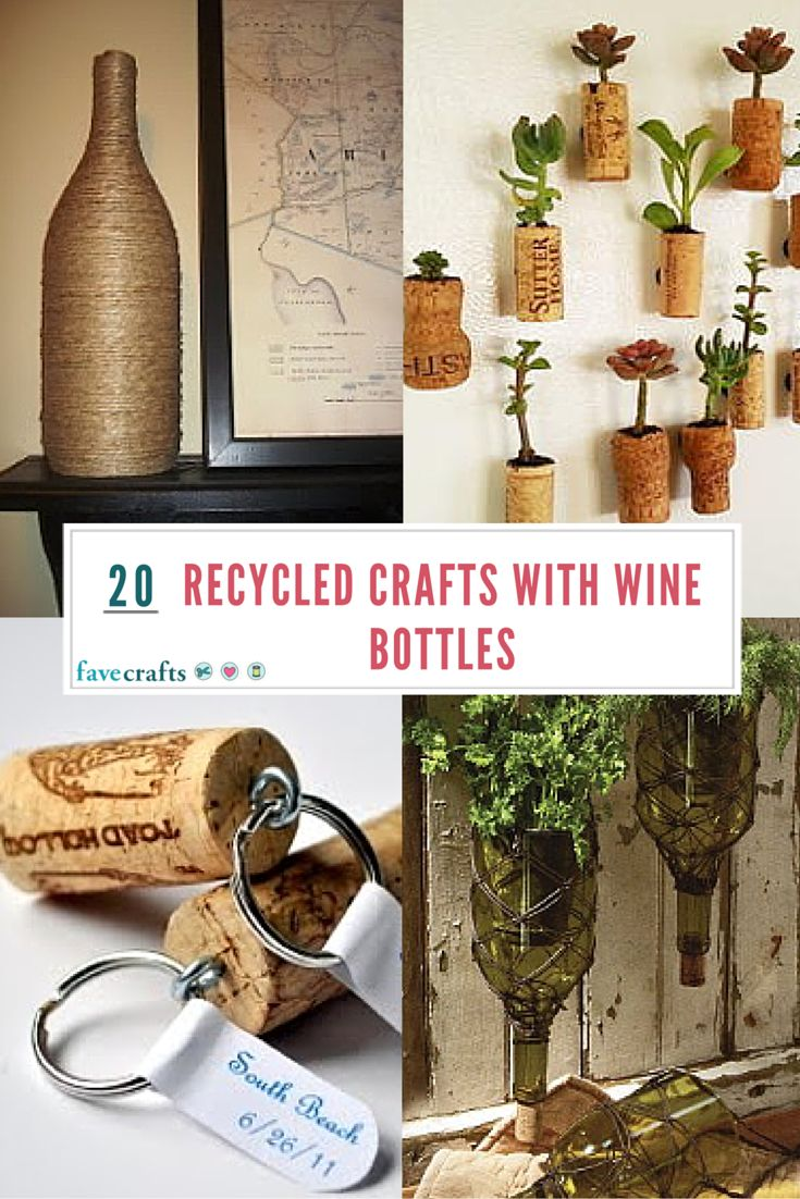 What to do with empty wine bottles - 20 Recycled Crafts With Wine Bottles