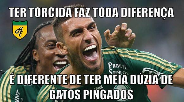Memes - Palmeiras x Santos