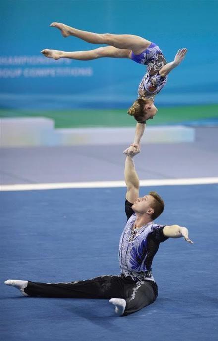 Russians hold spotlight in Acrobatic Gymnastics World Championships
