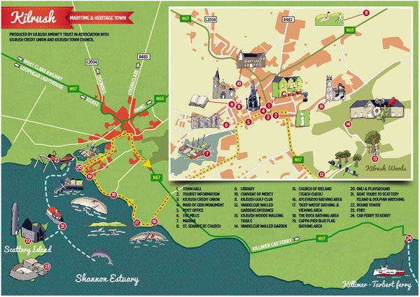 Graphics, Tourist Map And Maps