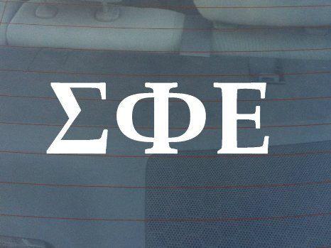 Sigma Phi Epsilon Fraternity Sticker Window Laptop by StickerTiger, $3.50