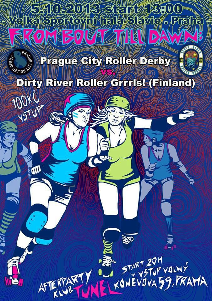 PCRD vs. Dirty River Roller Grrrls
