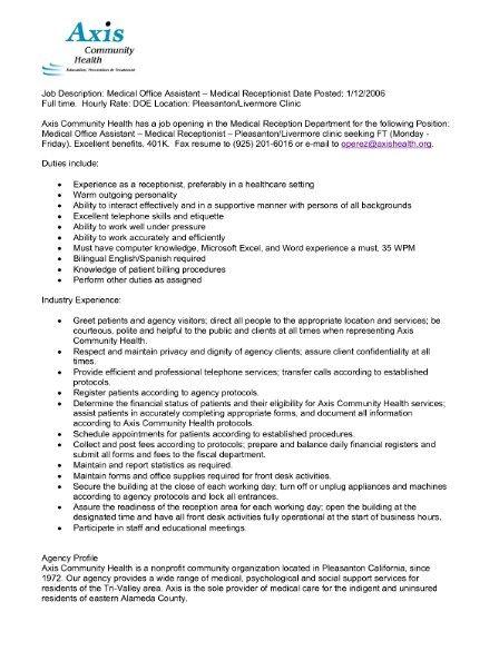Ms De  Ideas Increbles Sobre Medical Assistant Job Description