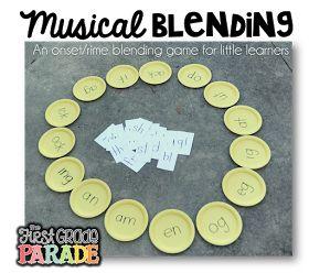 The First Grade Parade: Musical Matching - A Blending Game