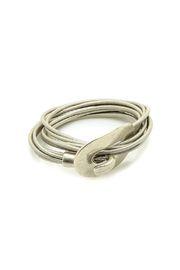 Statement Leather Bracelet