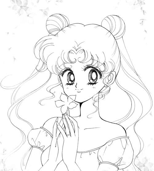 sailor moon usagi drawings - Google Search