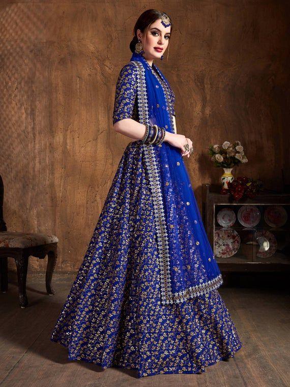 Designer lehenga choli wedding lengha function wear lehenga embroidered Black lengha lenga chania choli party wear bridesmaids dress saree 1