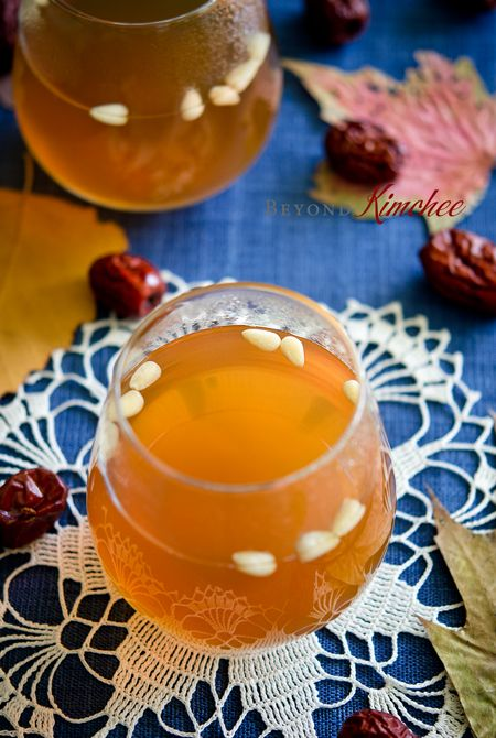 Harvest Punch | his is Korean remedy for cold. If you or your loved one is suffering with mean cold/flu and complaining for sore throat and coughing, try this drink. @beyondkimchee