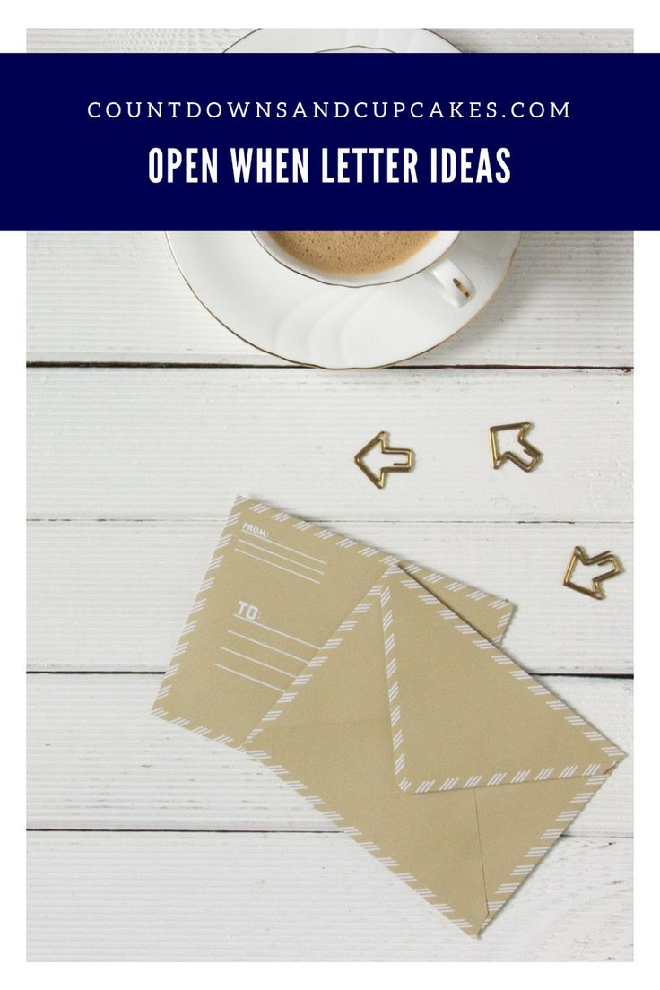 Open When Love Letter Ideas 17 Best ideas a...