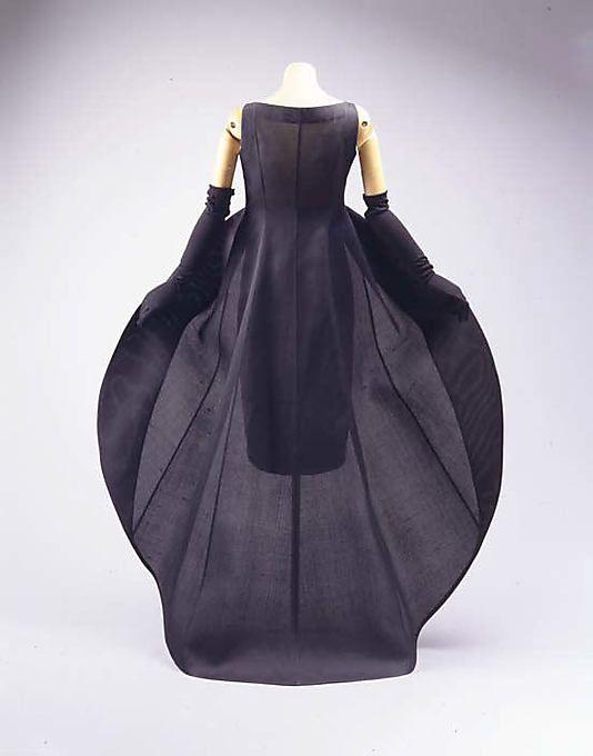 Evening Dress - c. 1967 - House of Balenciaga - Design by Cristobal Balenciaga
