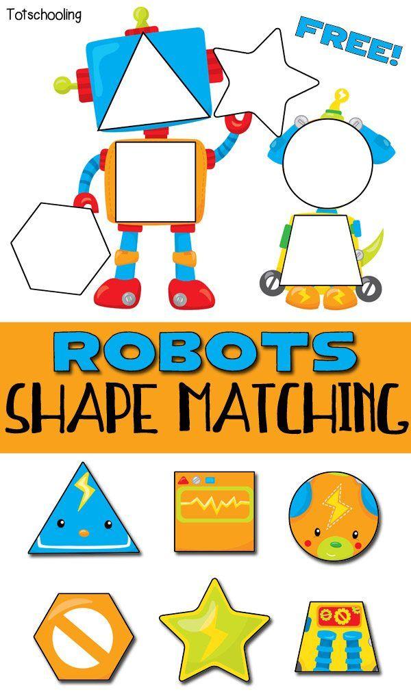 FREE Robots Shape Matching