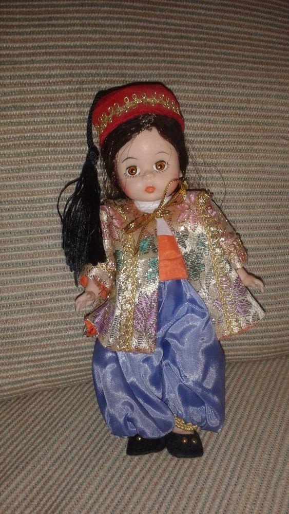 "Madame Alexander 8"" Dolls - International Doll - Turkey #Dolls"