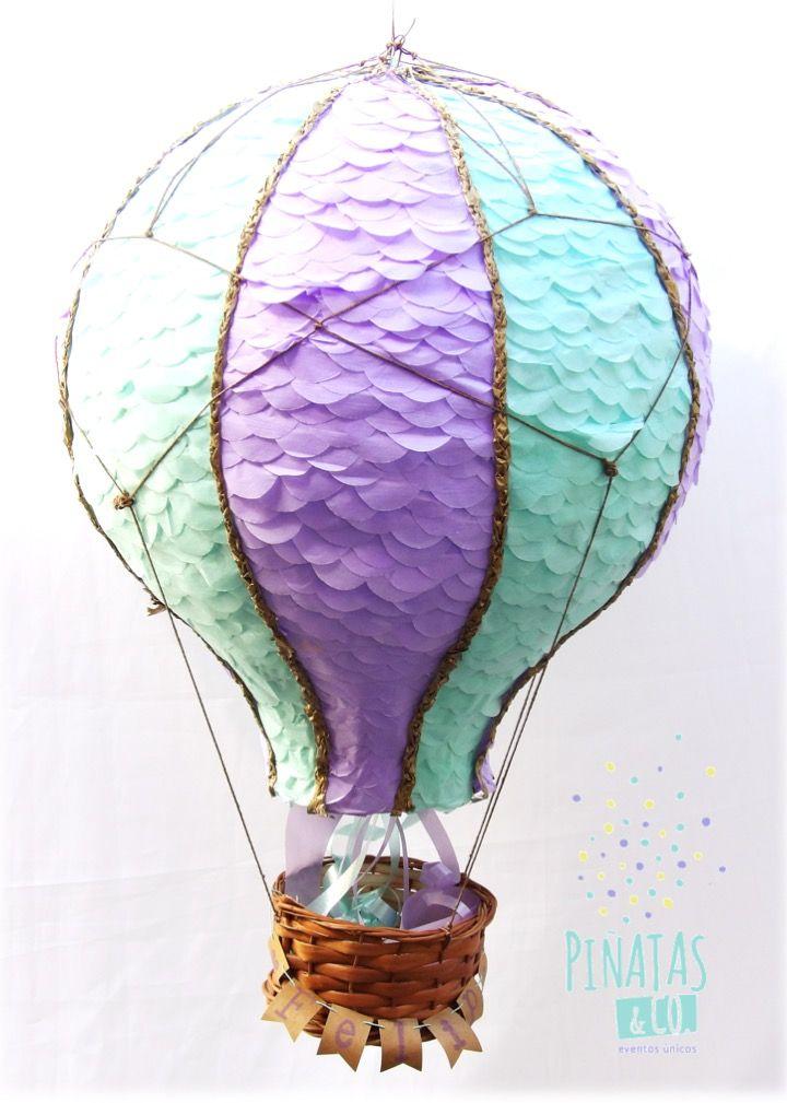 Piñata Globo Aerostático // Hot Air Balloon Pinata