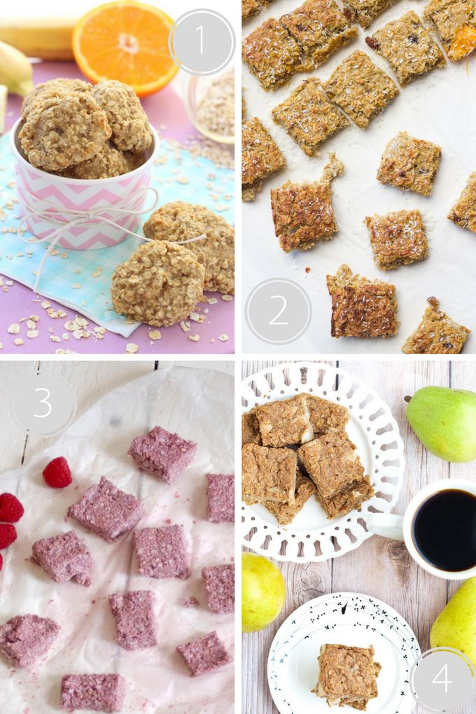 Delicious Kids' treat sweetened only with fruit. Delicious oat bars / bites perfect for breakfast or as a snack