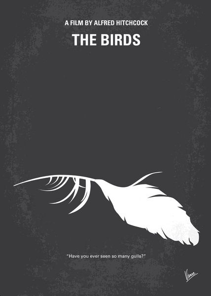 Minimalist Movie Poster - The Birds