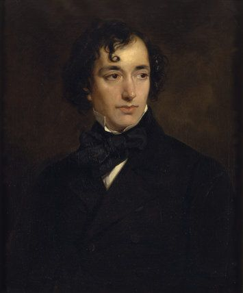 THE RIGHT HON. B. DISRAELI M.P. CHANCELLOR OF THE EXCHEQUER by Sir Francis Grant P.R.A. in 1852