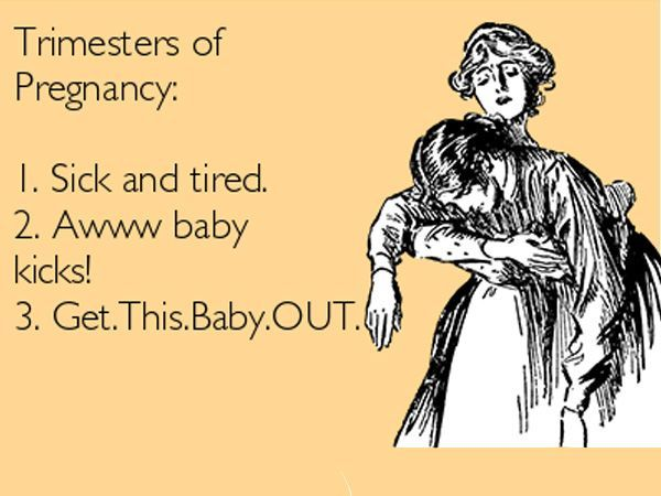 Pregnancy is one of the most joyful times in a woman's life, and by joyful we mean painful, uncomfortable, awkward and did we mention uncomfortable? Here are some funny memes to help you laugh your way through your pregnancy. *Image Source