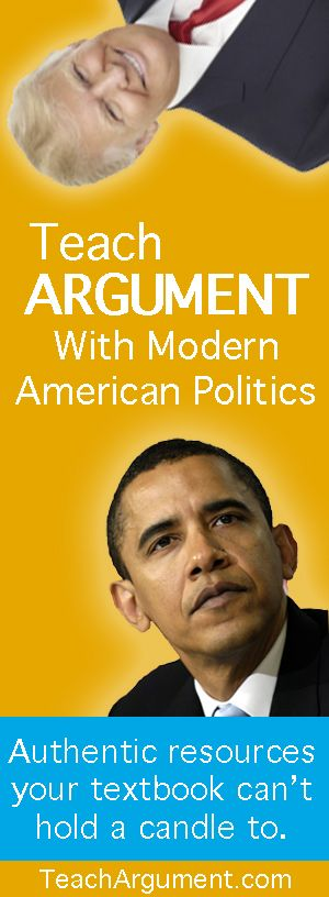 Looking for rich, complex texts to engage your students? Hello, modern American politics. Perfect for teaching argument, close reading, rhetorical analysis, and logical fallacies at all levels. Freshmen? No problem.  AP Lang?  Bring it on.
