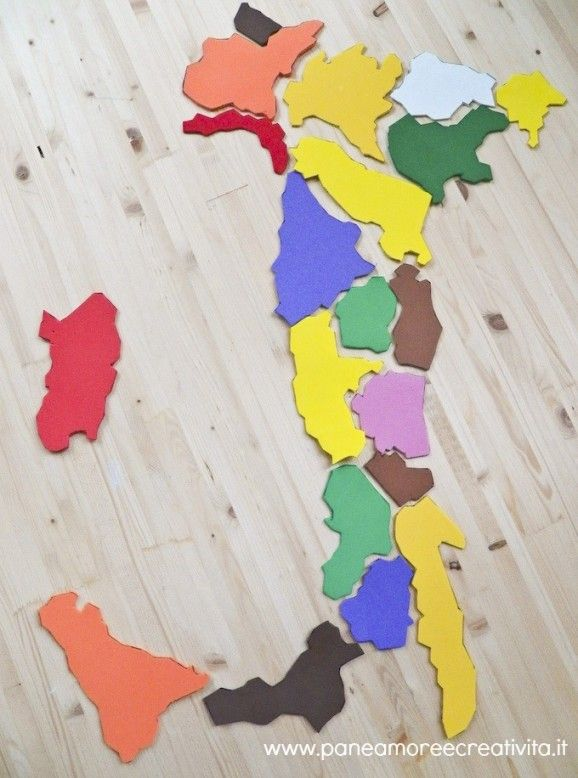 regioni italiane - gioco by paneamorecreatività