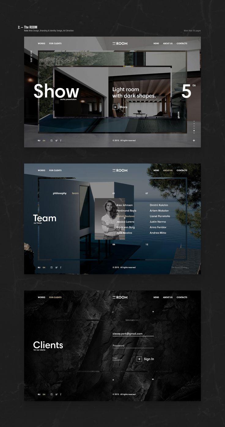 Web. — 2015 on Behance