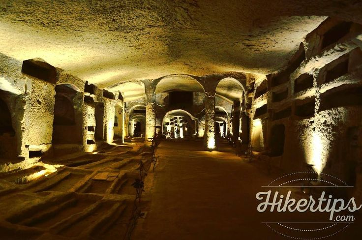 The interesting Catacombs of San Gennaro
