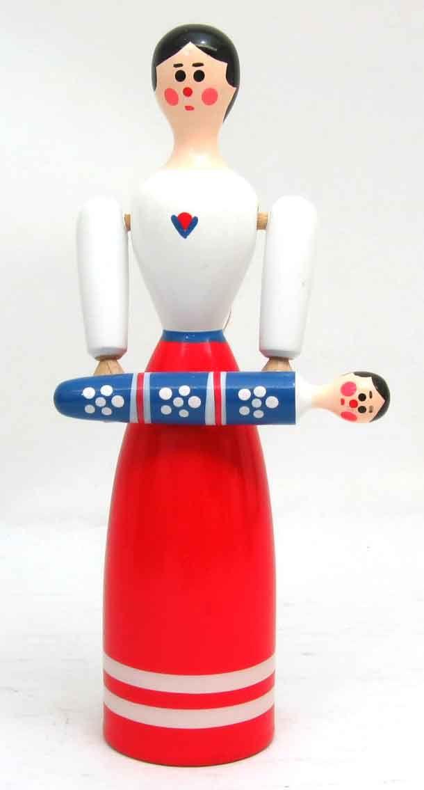 Folk art, Zdenek Bukacek Czech Doll